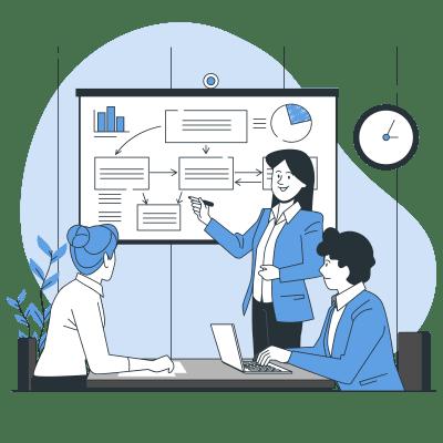 Go Scale - Illustration - Conseil stratégique et technique
