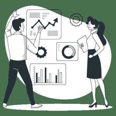 Go Scale - Illustration - Suivi et analyse de vos données